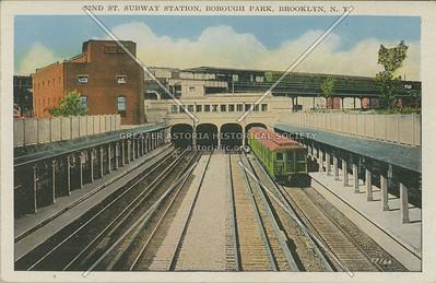 62nd St. Subway Station, Borough Park, Brooklyn, N.Y.