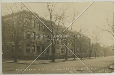Stuyvesant Ave. looking From Bainbridge St. To Fulton St.