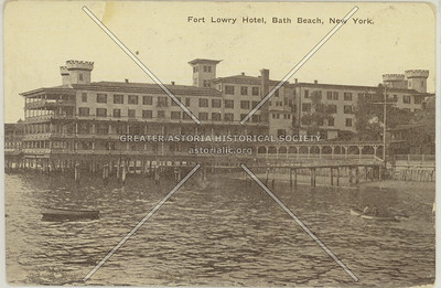 Fort Lowry Hotel, Bath Beach, New York