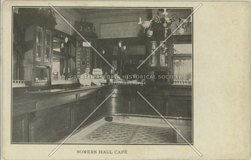 Somers Hall Cafe, Rockaway Ave & Somers St, Bed-Stuy