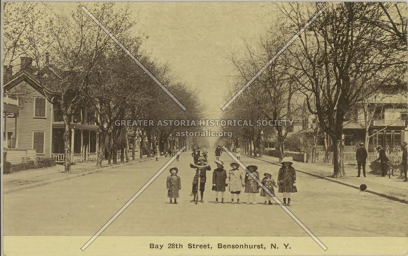 Bay 28th Street, Bensonhurst, N.Y.