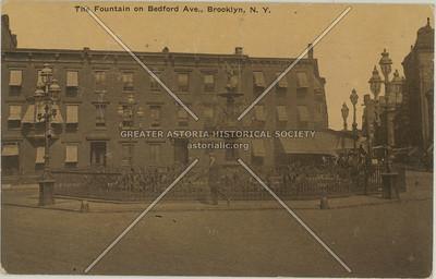 The Fountain on Bedford Ave., Brooklyn, N.Y.