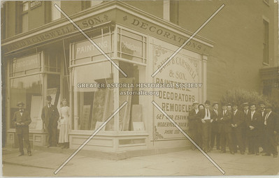 19 Gates Ave NE corner of Vanderbilt Ave ca 1910