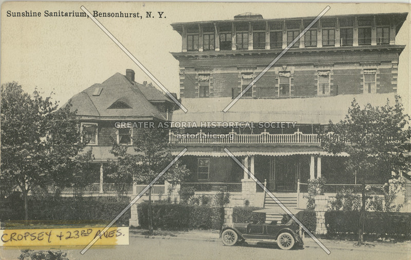 Sunshine Sanitarium, Cropsey & 23 Ave, Bensonhurst, N.Y.