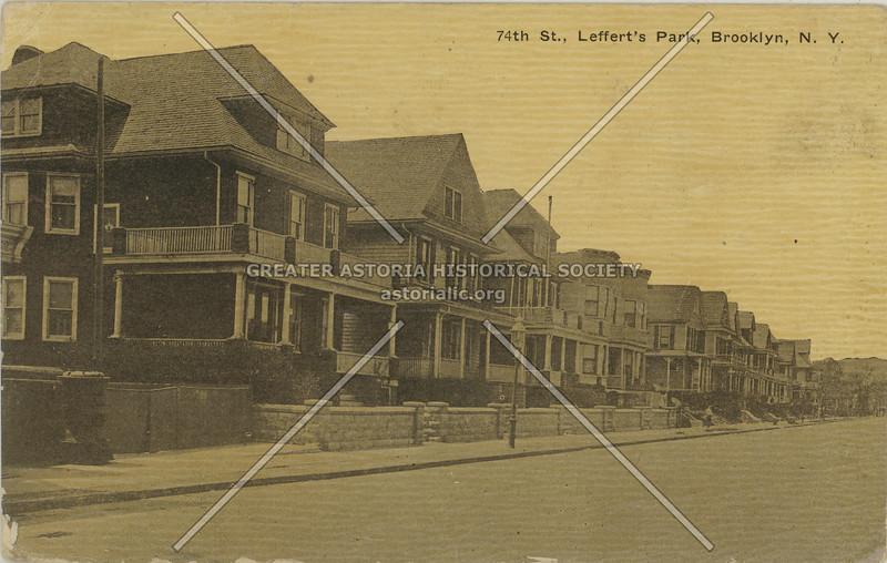 74th St., Leffert's Park, Brooklyn, N.Y.
