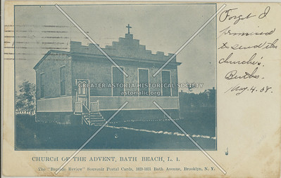 Church Of The Advent, Bath Beach, L.I.
