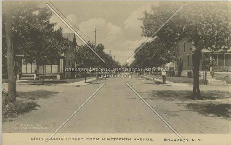 Sixty-Second Street, From Nineteenth Avenue, Brooklyn, N.Y.