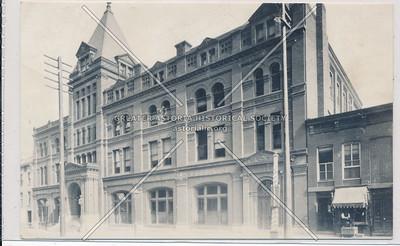 YMCA Central Brand, East Side Bond St., Between Fulton & Livingston, BK.