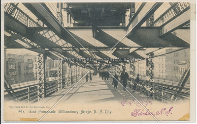 East Promenade, Williamsburg Bridge, BK.