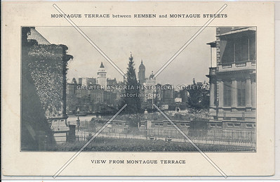 Montague Terrace between Remsen and Montague Streets, BK.