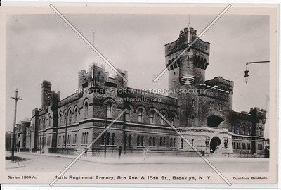 14th Regiment Armory, 8th Ave. & 15th St., BK.