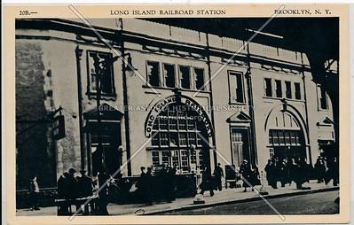 Long Island Railroad Station, BK.