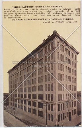Shoe Factory, Turner Construction Company- Builders, BK.