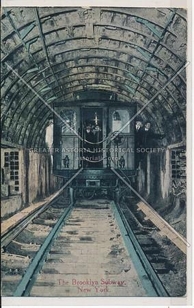 The Brooklyn Subway, BK.