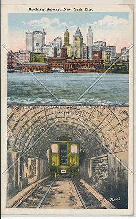 Brooklyn Subway, BK.