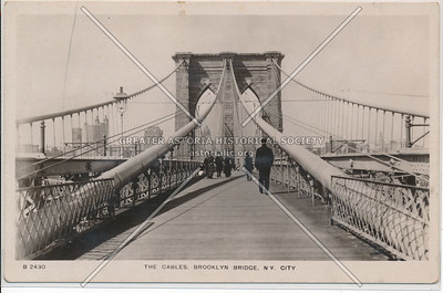 The Cables, Brooklyn Bridge, BK.