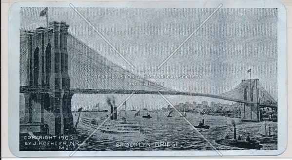 Brooklyn Bridge, BK.