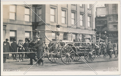 New Lots Exempt Firemen, Brooklyn, 1924.