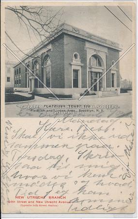 New Utrecht Branch, Flatbush Trust, 64th St & New Utrecht Ave, BK.