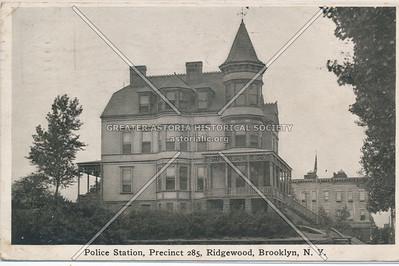 285th Precinct, Catalpa Ave., Ridgewood