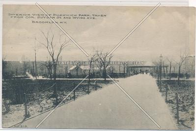 Bushwick Park at Suydam Street and Irving Ave., BK