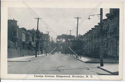Catalpa Ave., Ridgewood