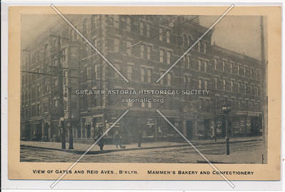 Gates and Reid Avenues, BK, Mammens Bakery