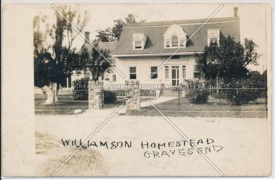 Williamson Homestead, Gravesend, BK.