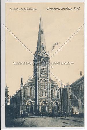 St. Anthony's R.C. Church, Greenpoint, BK.