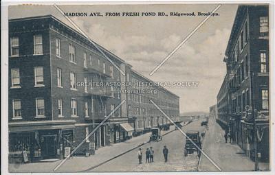 Madison Ave (Madison Street) at Fresh Pond Rd., Ridgewood