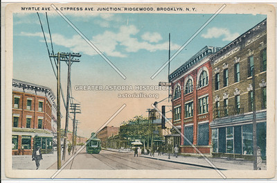 Myrtle and Cypress Aves. Ridgewood