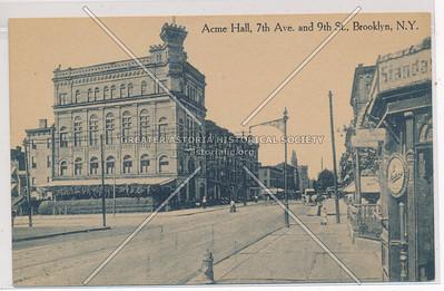 Acme Hall, 7th Ave & 9th St., BK.