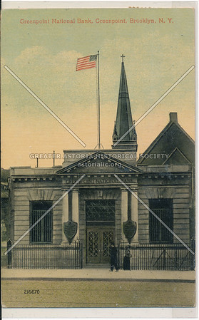 Greenpoint National Bank, Greenpoint, BK.