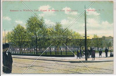 Winthrop (McGolrick) Park, Russel & Nassau Ave, Greenpoint, BK.