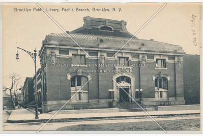 Brooklyn Public Library, Pacific Branch, BK.