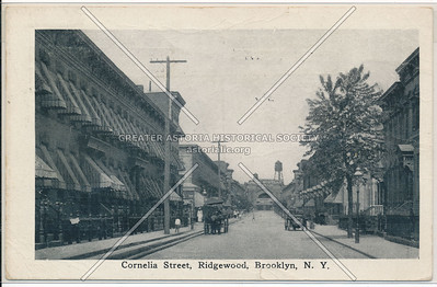 Cornelia St., Ridgewood