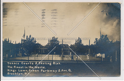 Kings Lawn, Ocean Parkway & Ave Q (Quentin Rd), BK.