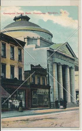 Greenpoint Saving Bank, Greenopoint, BK.