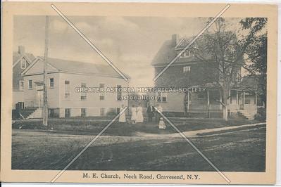 M.E. Church, Neck Road, Gravesend, BK.