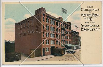 Meurer Bros, Flushing Ave, BK.