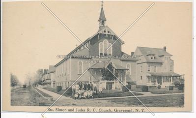 Sts. Simon & Jude R.C. Church, Gravesend, BK.