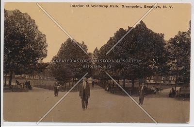 Winthrop (McGolrick) Park, Greenpoint, BK.