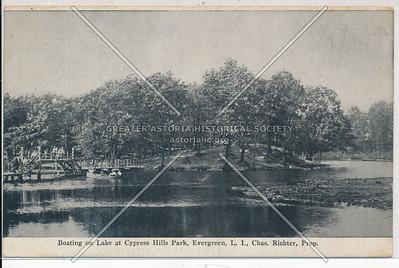 Cypress Hills Park lake, BK