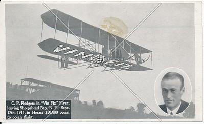 C.P, Rodgers, Vin Fiz Flyer, Sheepshead Bay