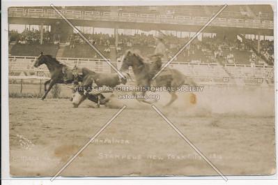 Stampede Rodeo at Sheepshead Bay Racetrack, BK.