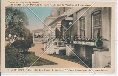 Villepigue's New Inn, Ocean and Voorhies Avenues, BK.
