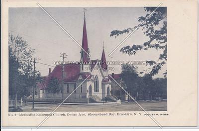 Methodist Episcopal Church, Ocean & Voorhies Aves, Sheepshead Bay, BK.