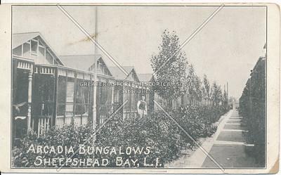 Arcadia Bungalows, Emmons Ave at Ford St., Sheepshead Bay, BK.
