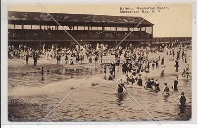 Bathing, Manhattan Beach, Sheepshead Bay, BK.