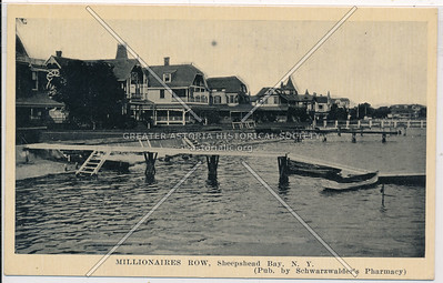 """Millionaire's Row,"" Sheepshead Bay, BK."